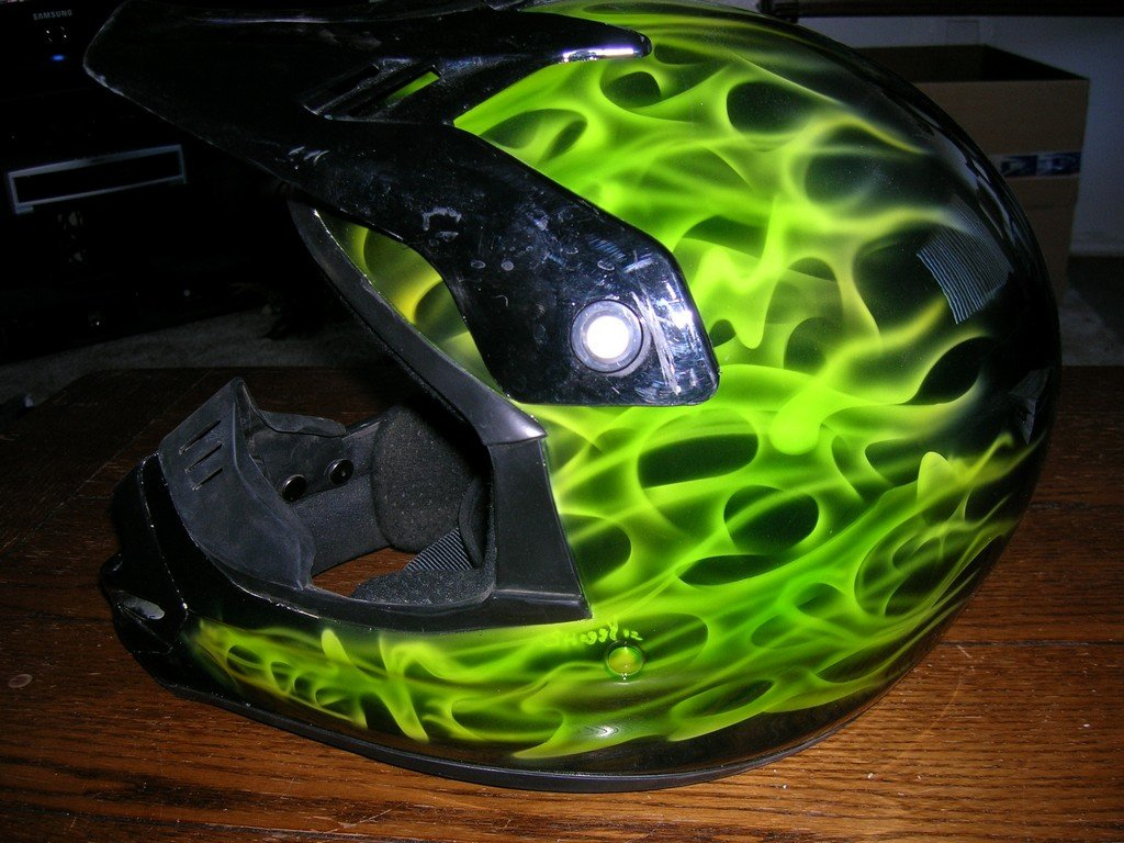 New Paint job on Helmet
