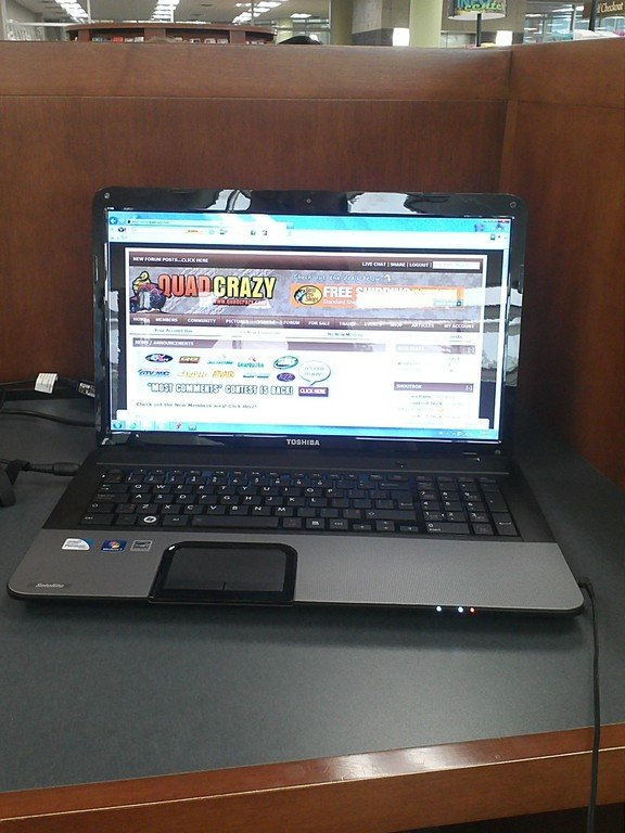 my new laptop ...