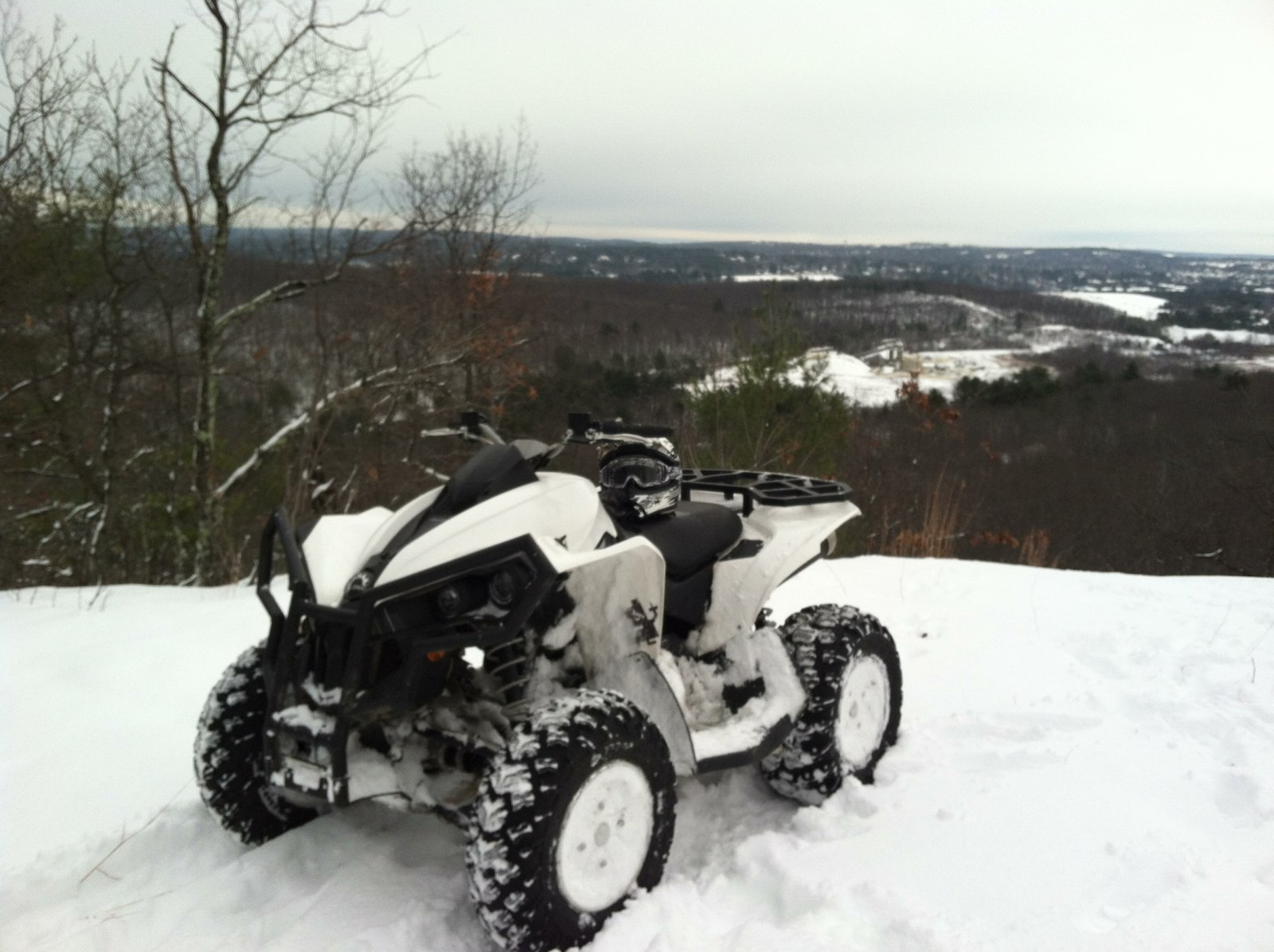 renegade in snow