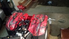 Honda Rancher ATV Decals 2