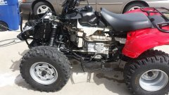Honda Rancher ATV New Plastic