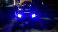 Yamaha Grizzly With LED Lighting