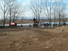 Honda 250R Jump at Lembo Lake ATV Park