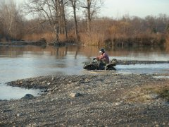 Lembo Lake ATV Park Water Riding