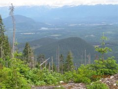 view of the kitimat valley
