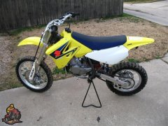 Our 2 stroke bike