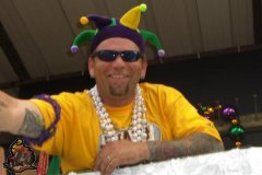 Me at da Mardi Gras!