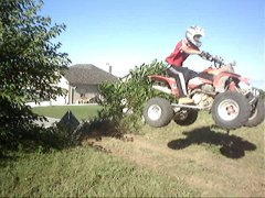 just a little jump beside my house