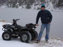 ATV Winter Wonderland