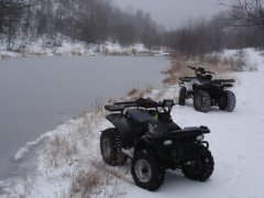 ATV Winter Wonderland at Sandy Mtn