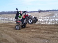 dvx400 no handed wheelie