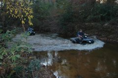 riding in Rainey River