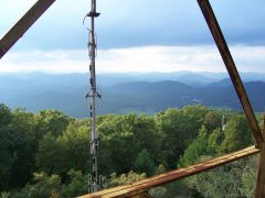 view from firetower