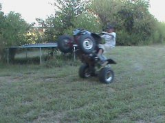 Blurry Wheelie