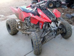Got my quad muddy today...