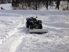 Yamaha Grizzly Snow Sport Plow