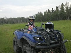 Kids ATVs and Parents With Kids