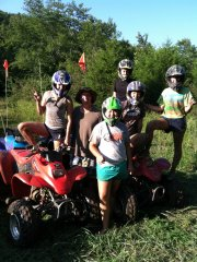 Before Riding in the mud