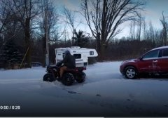 Winter & Snow ATV Riding