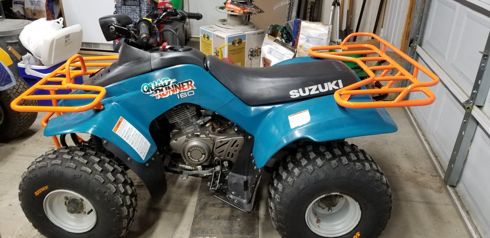 Suzuki 160 Quad Runner Rack Project