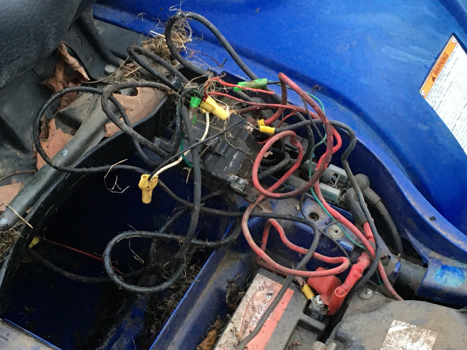 2004 Yamaha Grizzly Wiring Issues