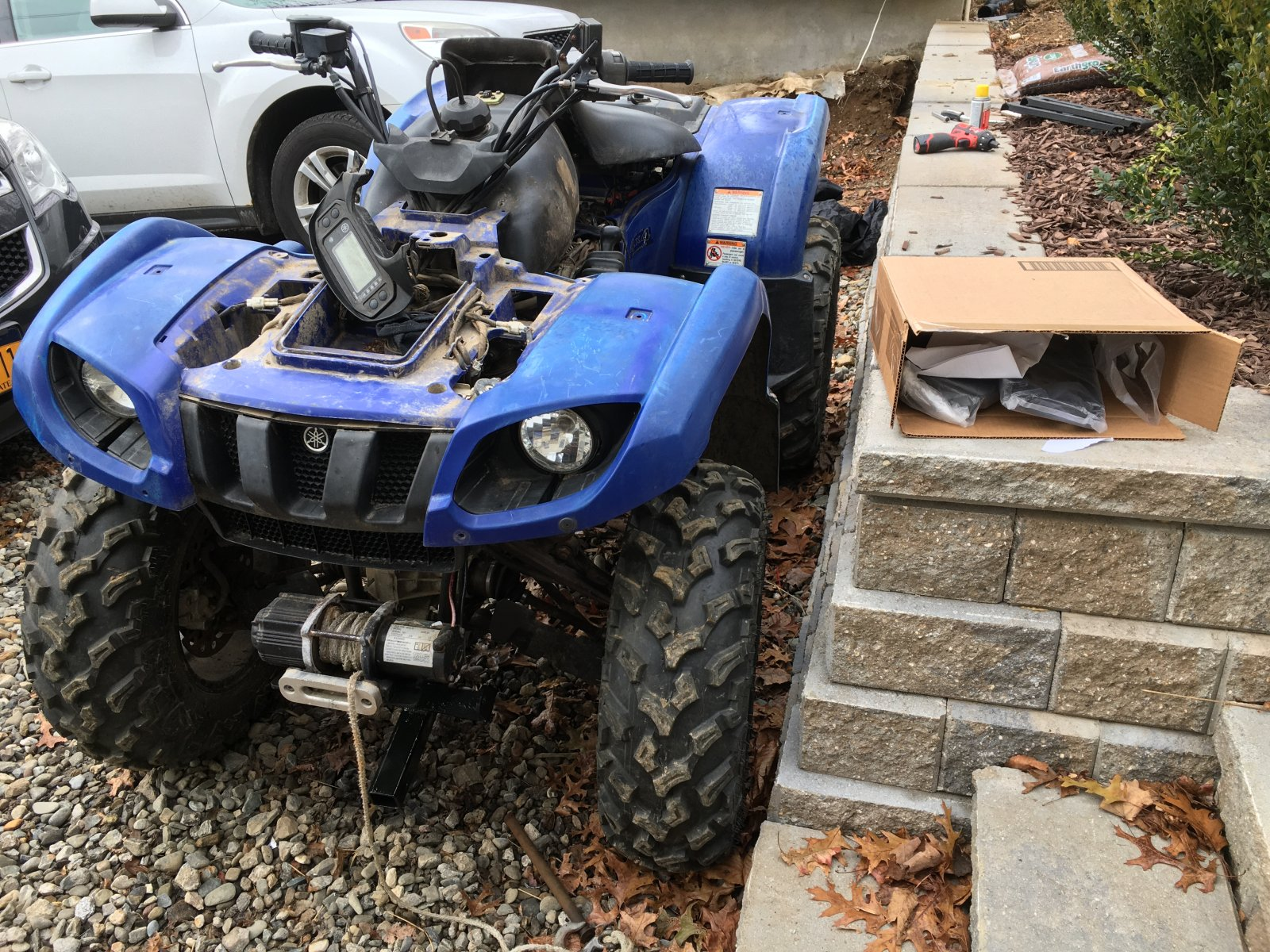 2004 Yamaha Grizzly 660 Remove Front Bumper