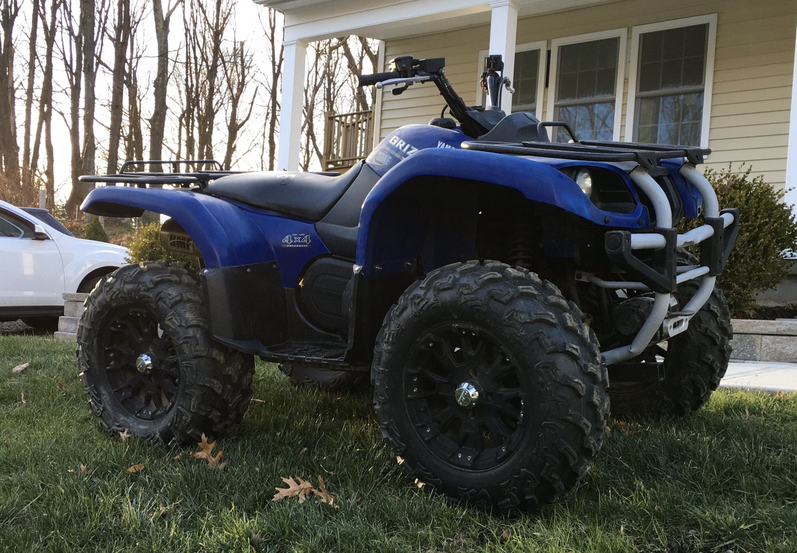 2004 Yamaha Grizzly Repairs