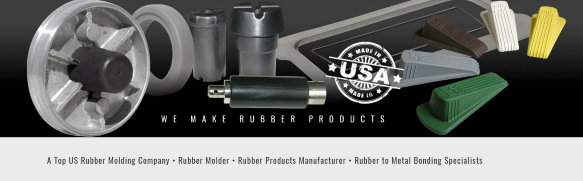 We Make Rubber Products | Rubber to Metal Bonded Components