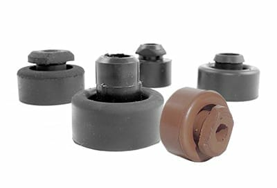 colored edpm injection molded grommets