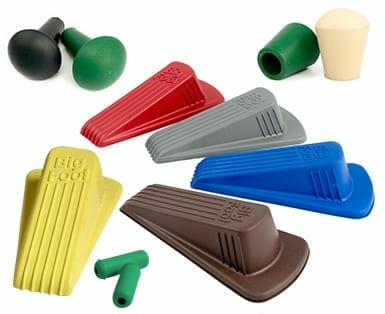 colored rubber molding