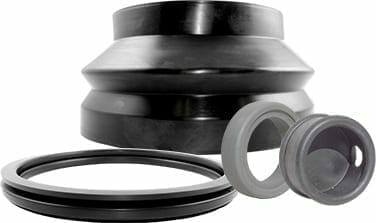 Qualiform's custom rubber extrusions, gaskets, and seal