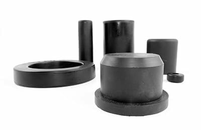 A selection of Qualiform's TPE parts | Thermoplastic elastomers