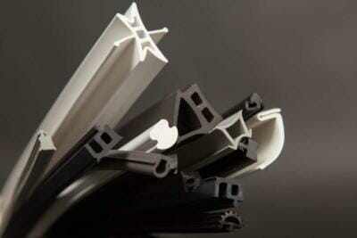 Various profiles of Qualiform's rubber extrusions   Rubber molding