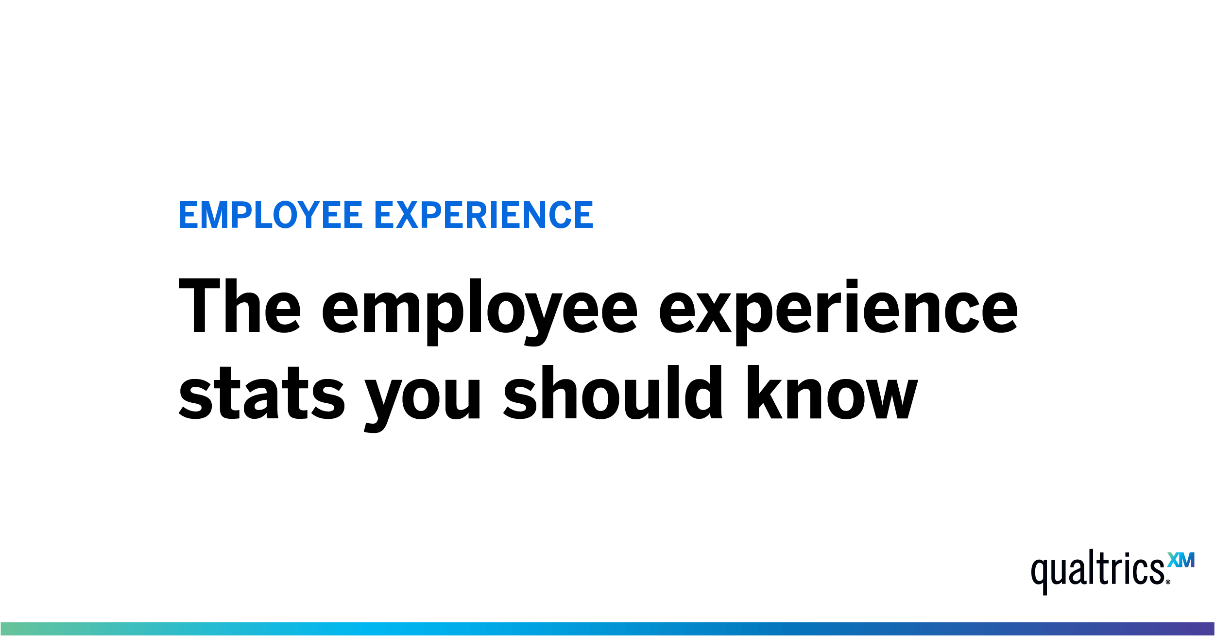 18 employee experience and engagement stats to know in 2019