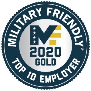 Qualtrics named #3 on 2019 Military Friendly's Top 10 Employers List