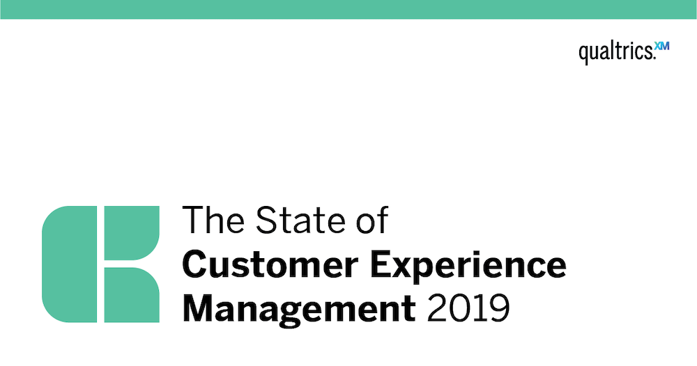 New XM Institute research: State of Customer Experience Management 2019