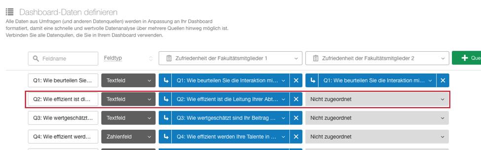 Dashboard-Daten zuordnen (CX) image
