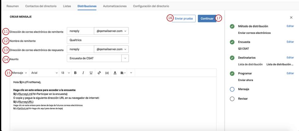 Envío de correos electrónicos en iQDirectory image 8