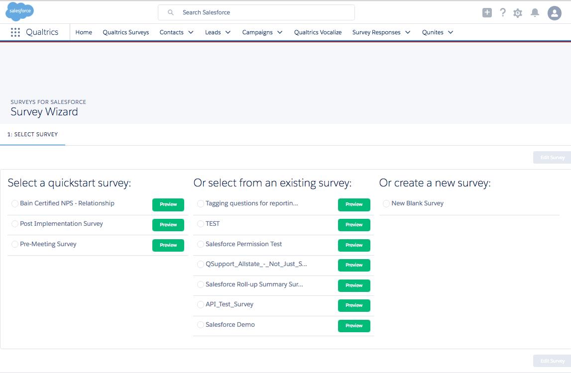 Salesforce Survey Tool Integration with Qualtrics | Qualtrics