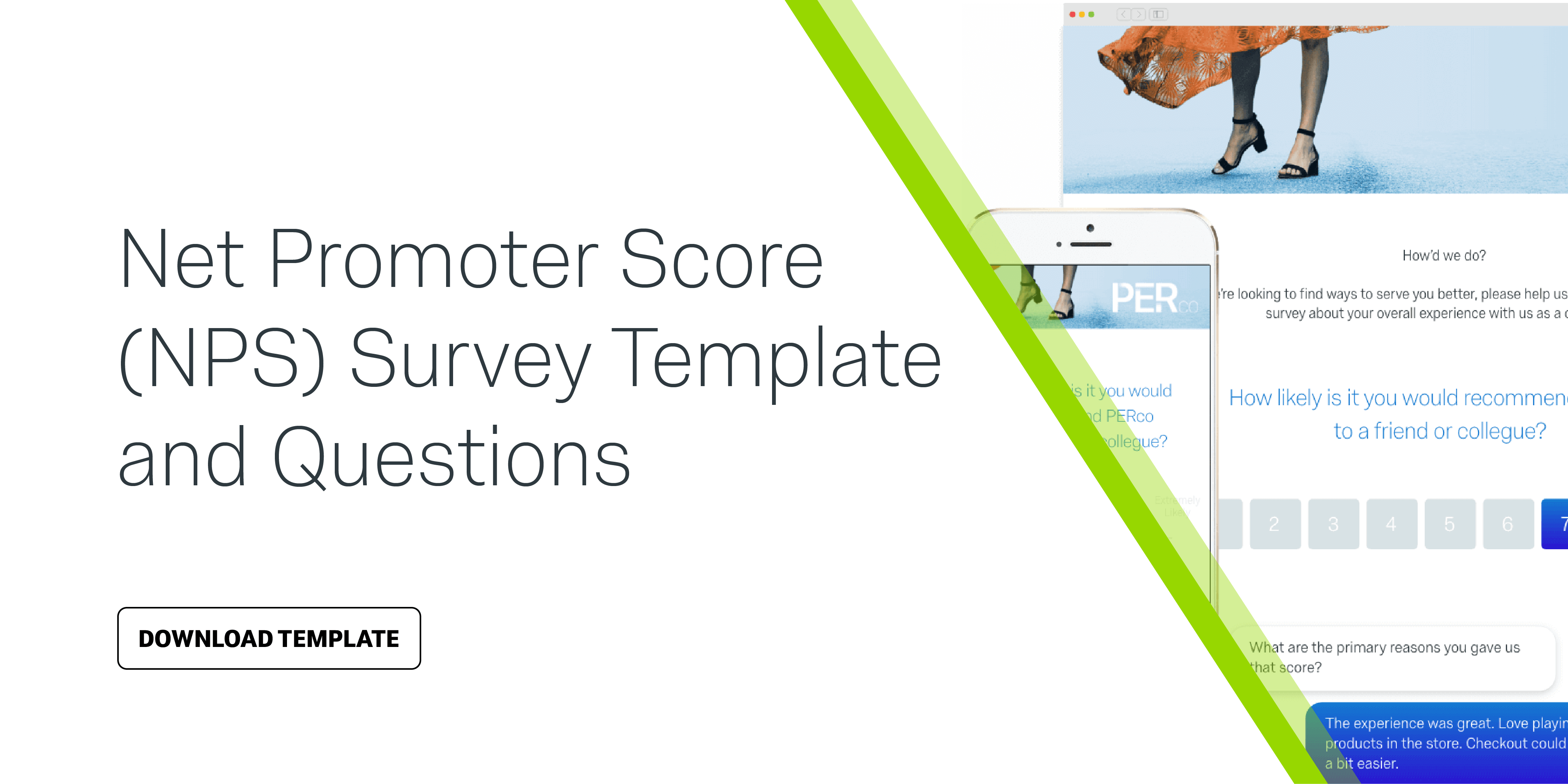 Net promoter score nps survey template questions qualtrics maxwellsz