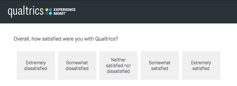 customer satisfaction surveys 6 questions examples qualtrics