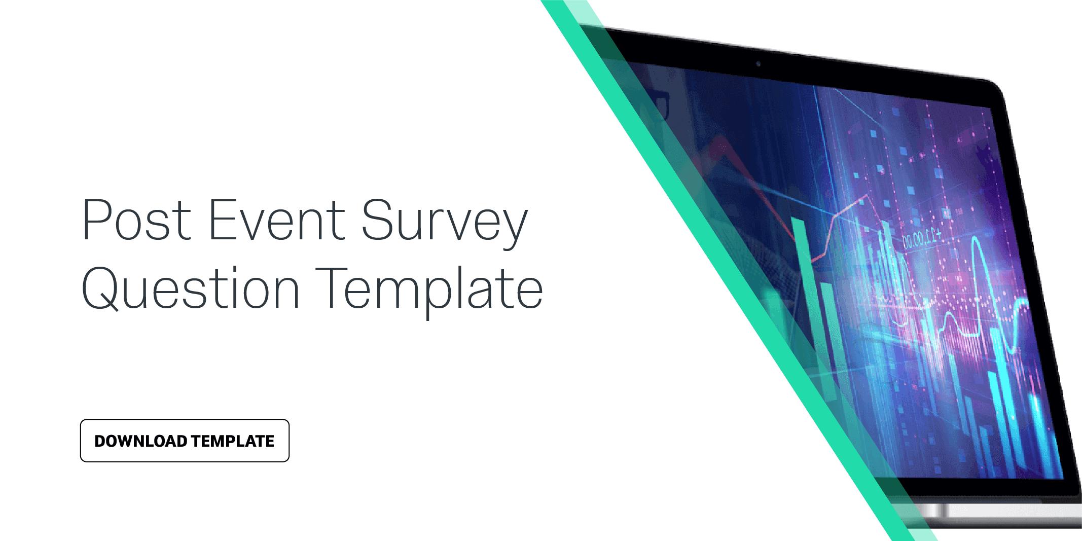 Post Event Survey Question Template | Qualtrics