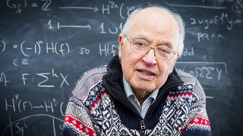 quantamagazine.org - Michael Atiyah's Mathematical Dreams