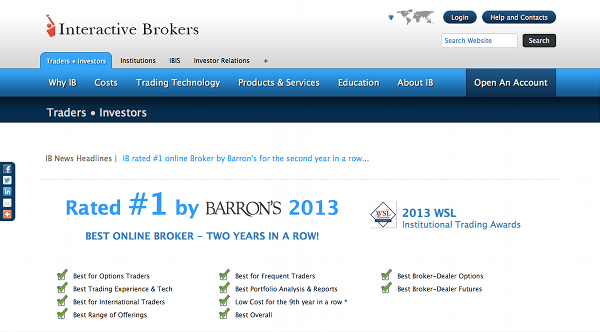 demo account interactive brokers