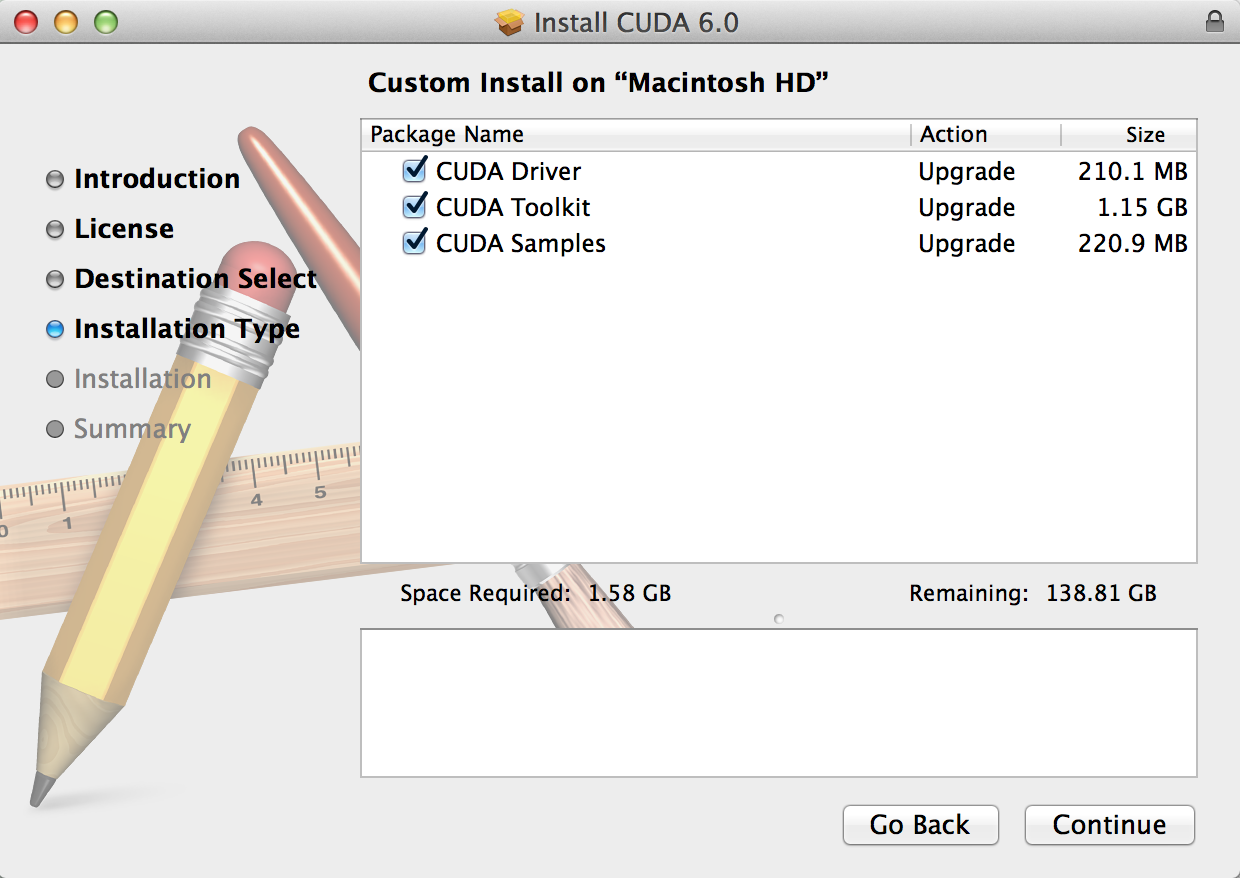 Installing Nvidia CUDA on Mac OSX for GPU-Based Parallel