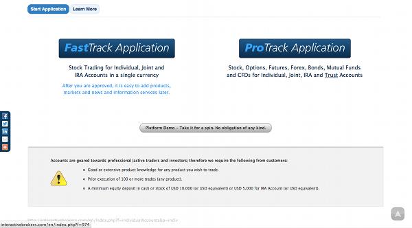Interactive Brokers Demo Account Signup Tutorial | QuantStart