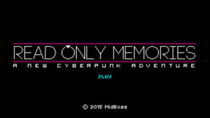 First Impressions: Read Only Memories (LGBT Video Game)