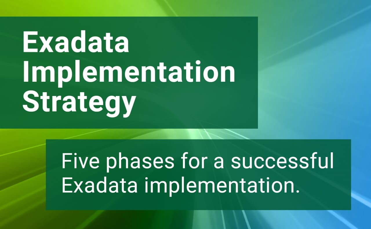 Exadata - Part 2: Implementation Strategies - Quest Oracle