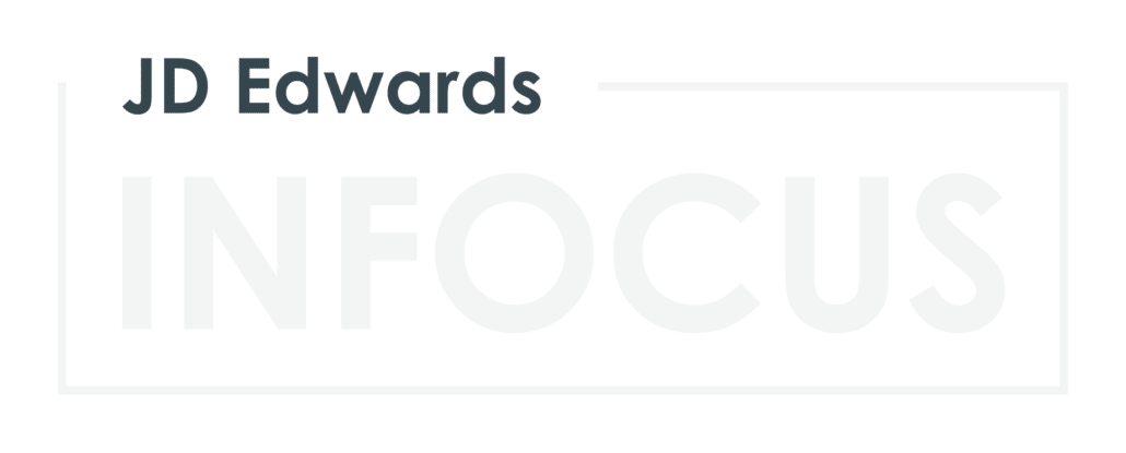 JD Edwards INFOCUS