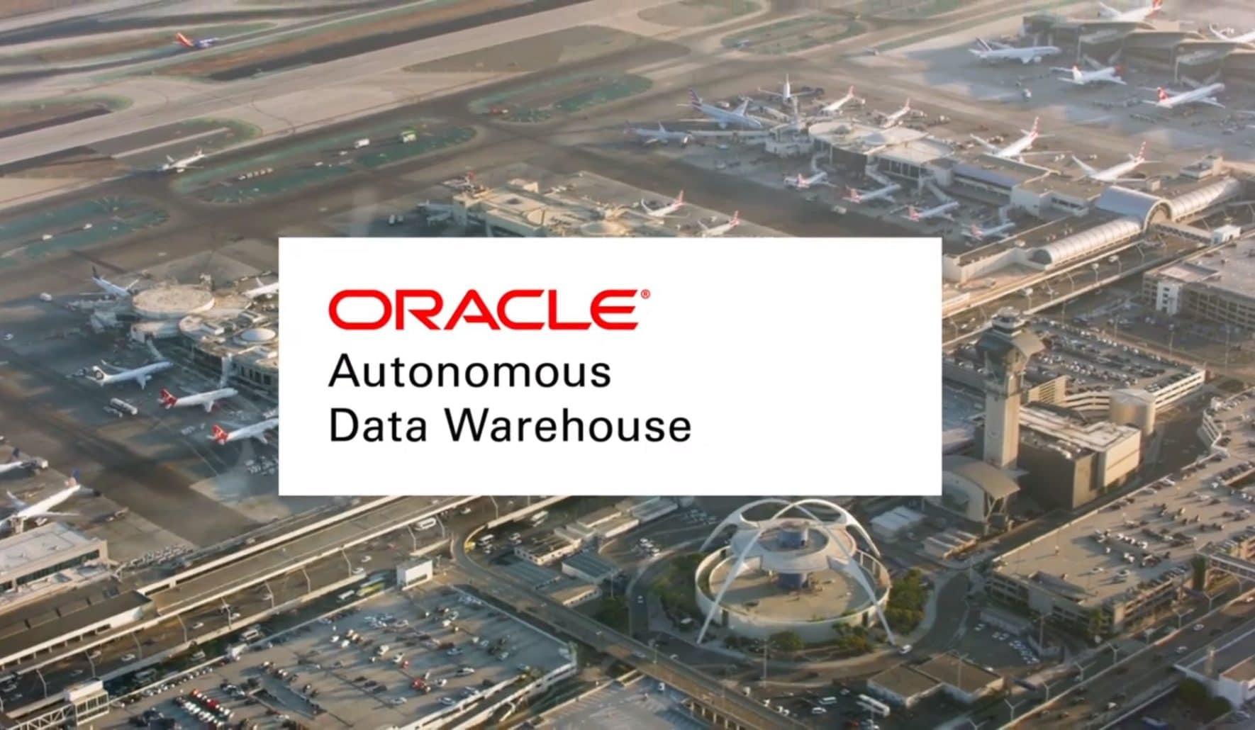 Oracle-Autonomous-Data-Warehouse